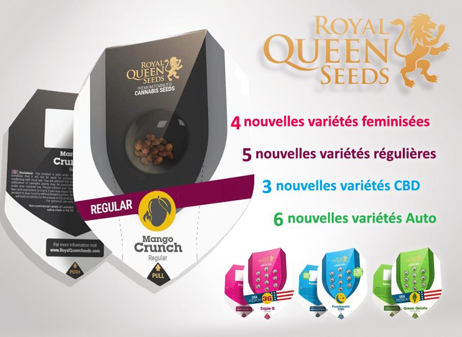 nouvelles graines royal queen seeds